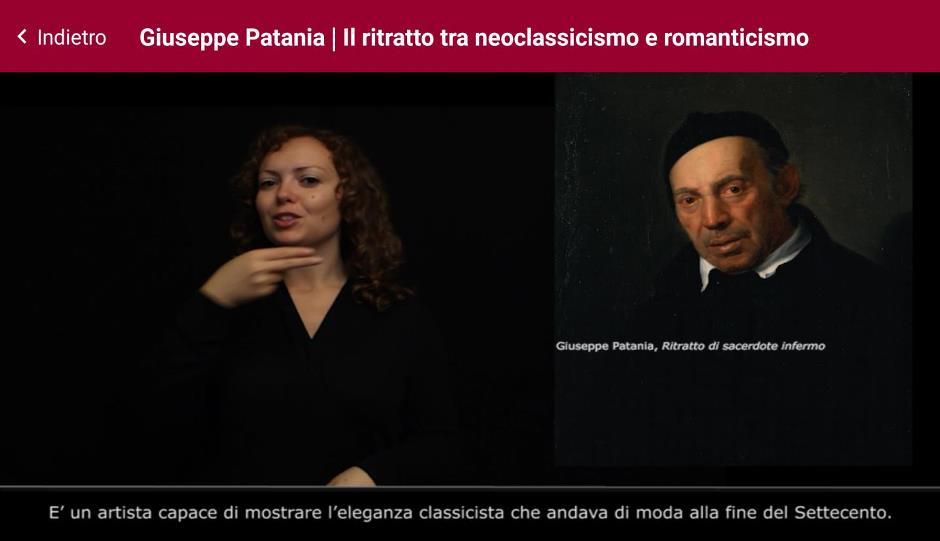 Videoguida in Lis Galleria d'Arte Moderna Palermo