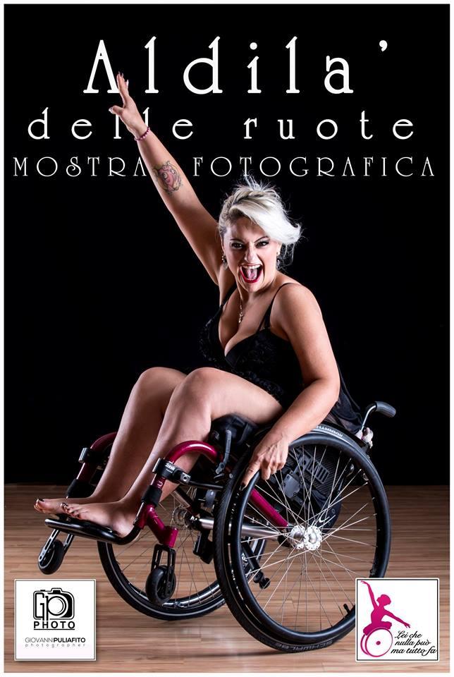 """Roberta Macrì Aldilà delle ruote - Roberta Macrì """"Aldilà delle ruote"""": Shooting Fotografico bellezza,disabilitàpossono vivere in armonia"""