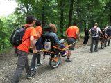 joelette 160x120 - 46° Sagra de lo Ciammarruchiello a Buonalbergo accessibile a persone con disabilità motoria