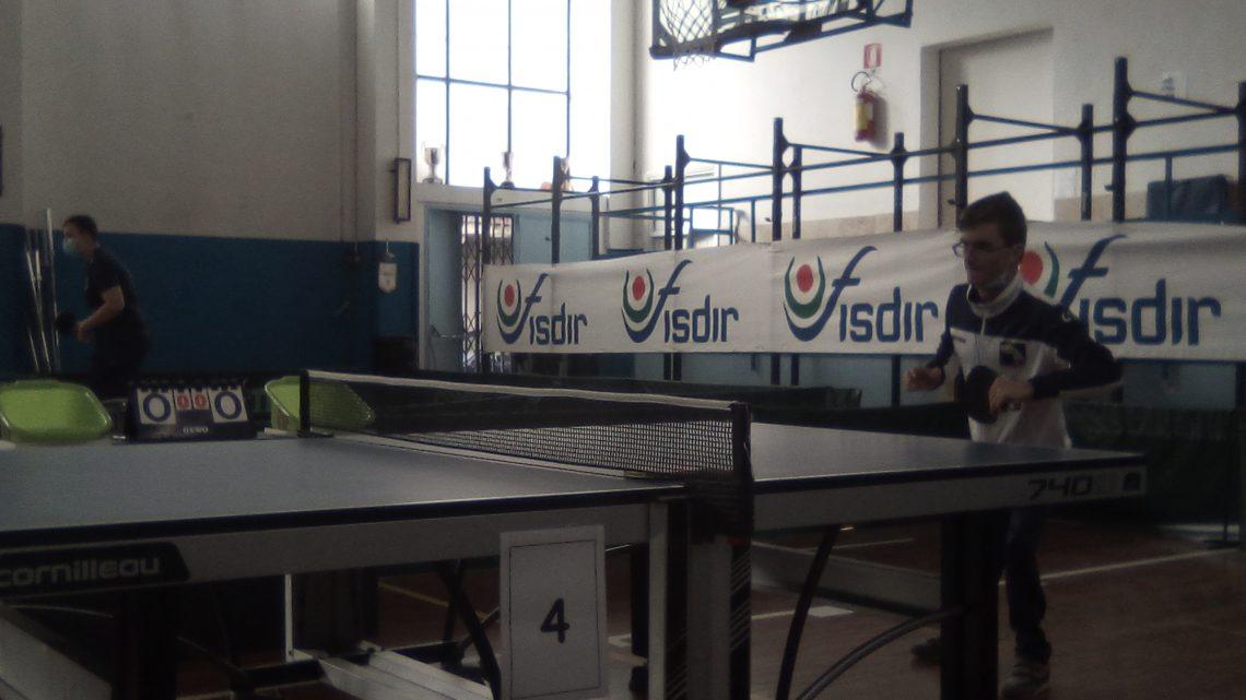 Sport paralimpico: disputato a Palermo, il II Campionato regionale individuale di tennistavolo Fisdir