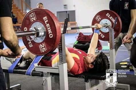 Para Powerlifting Fipe: intervista all'atleta nisseno Cristiano Campione