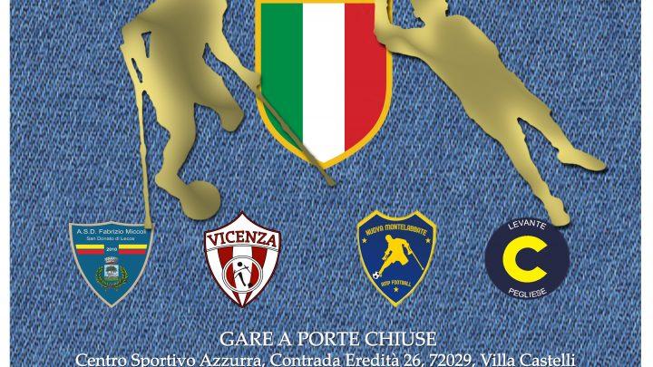 Calcio amputati Fispes: a Grottaglie la sfida per lo scudetto 2020