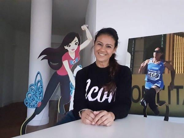 Giusy Versace manda un video agli allievi della Dobbs Ferry High School: 'Siate positivi e non mollate mai'