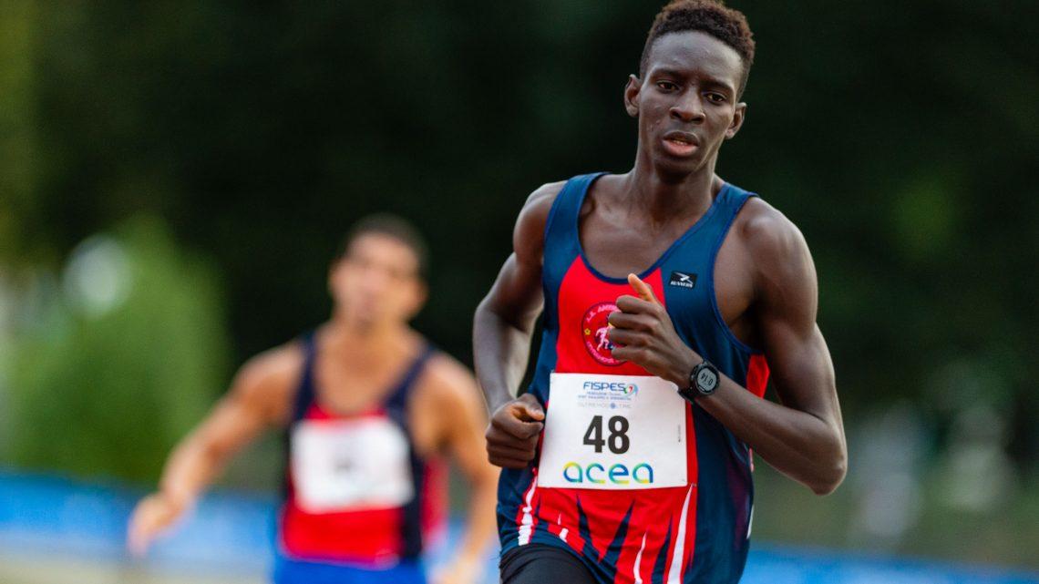 Atletica paralimpica: il mezzofondista Ndiaga Dieng segna ancora un record nei 1500 di Modena