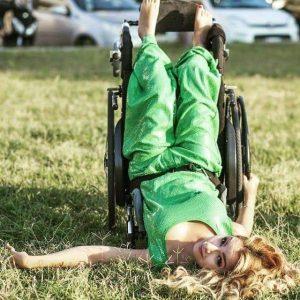 La ballerina con disabilità Federica Bambaci
