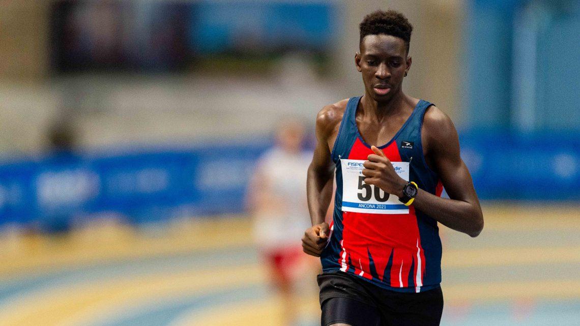 Atletica paralimpica Ancona: ancora record per Ndiaga Dieng e Valentina Petrillo nei 400 metri indoor