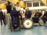Sport paralimpico: anniversario rugby in carrozzina