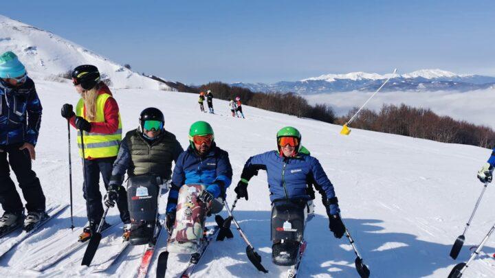 Sport invernali Paralimpici, boom di presenze agli allenamenti dell'associazione Sportiva In2theWhite