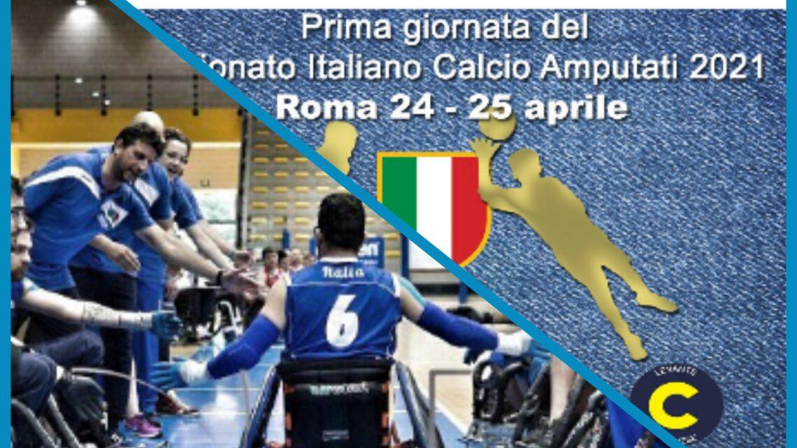 Sport Fispes: Roma, 1^ tappa Campionato Italiano di Calcio amputati, a Padova raduno della nazionale di Rugby in carrozzina