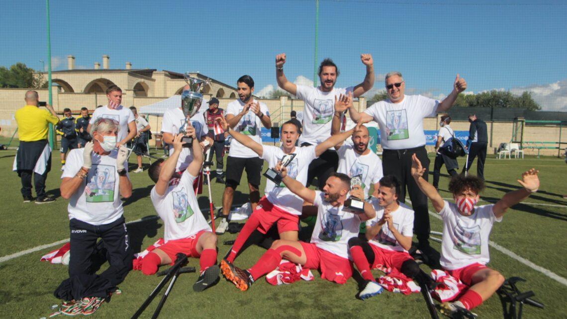 Sport Fispes, nel calcio amputati dominano Nuova Montelabbate e Vicenza, Petrillo record italiano nei 400 metri