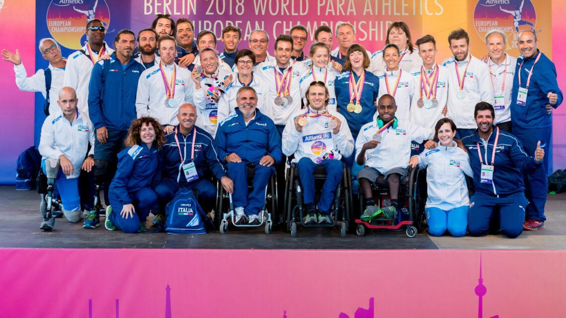 Atletica paralimpica Fispes: pubblicata la lista dei convocati per gli Europei di Bydgoszcz del 1-5 giugno