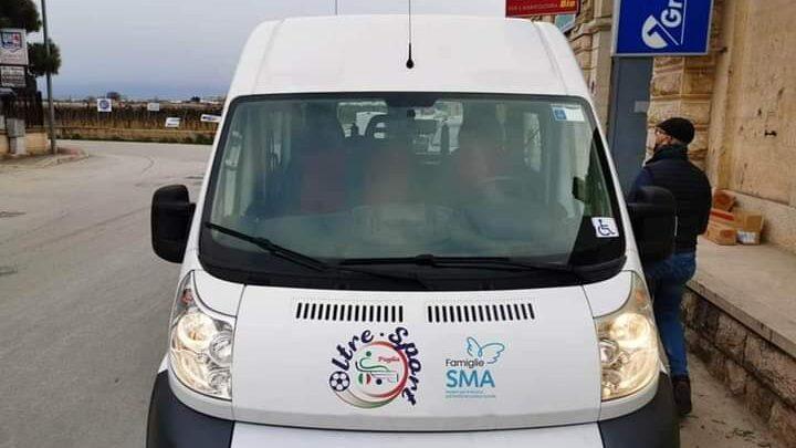 Trani, rubato furgoncino di proprietà dell'associazione Oltre Sport. Grande: 'Dentro ci sono i nostri sacrifici'