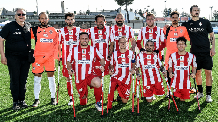 Calcio amputati Fispes: il Vicenza a Gaziantep per la Champions League