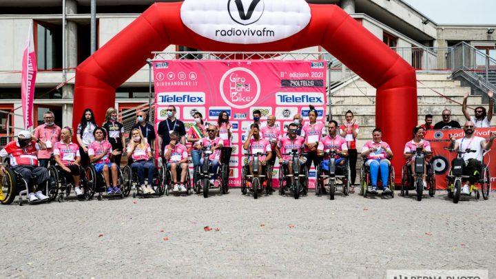 Giro Handbike 2021: la seconda tappa di Pioltello, una festa dello sport