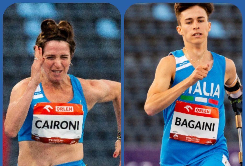 Atletica paralimpica Nizza: Bagaini record tricolore nei 400, Caironi 14.63 nei 100