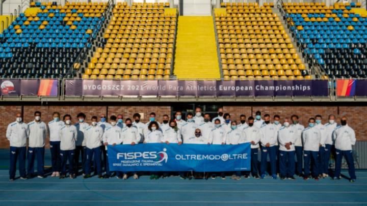 Atletica paralimpica, Europei di Bydgoszcz: la compagine azzurra chiude con dieci medaglie all'attivo