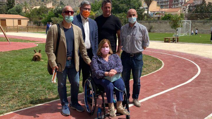 Inaugurazione del Parco dei Suoni di Palermo, presente anche la Fisdir e il CIP Sicilia