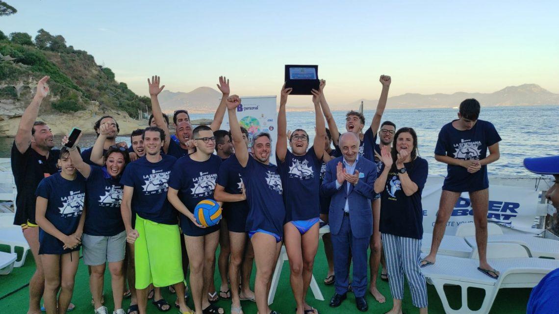 Pallanuoto paralimpica, a Napoli l'ASD Delfini Blu conquista il Trofeo Memorial Scotti Galletta