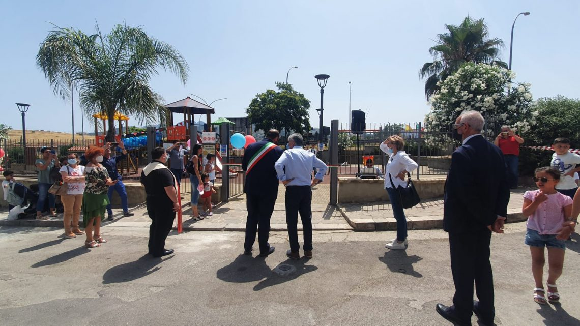 Bolognetta (PA), inaugurato il parco giochi inclusivo, La Versa (Fisdir Sicilia): 'Una struttura dove i bimbi sono solo bimbi'