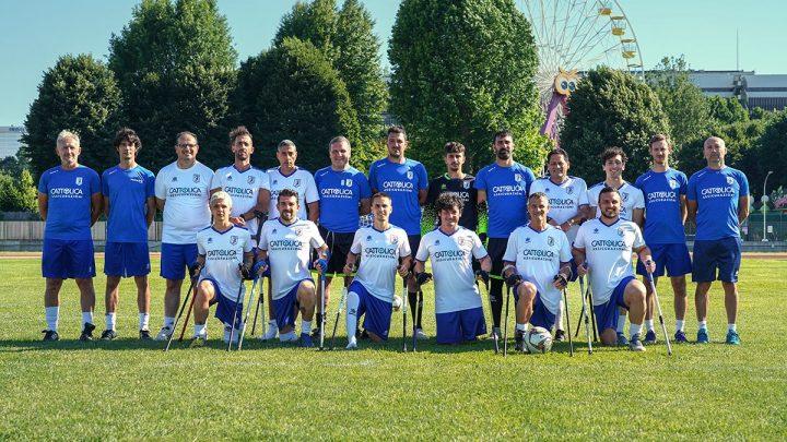Calcio amputati Fispes: per la Nazionale azzurra, ritiro pre-Europeo a Montecreto (MO)
