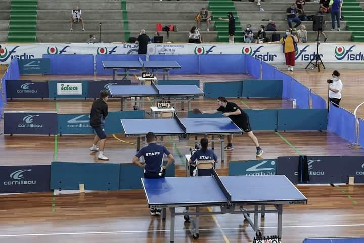 Tennistavolo Fisdir, a Marsala la 13^ edizione dei Campionati Nazionali